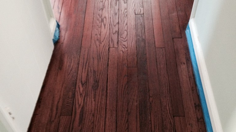 refinish old hardwood floors long island NY AFTER