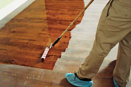 Hardwood Floor Wax wood floor hand wax 1 Hardwood Floor Installation