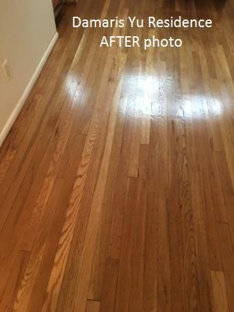 hardwood floor refinish photos before after
