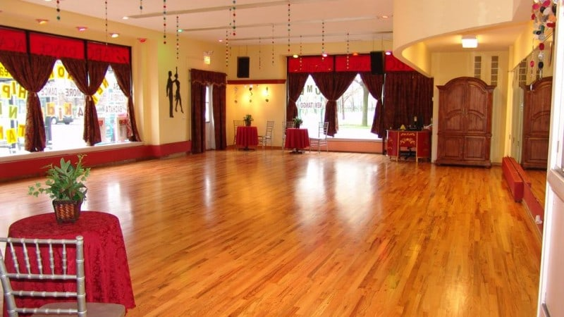 ballroom dance floor refinishing