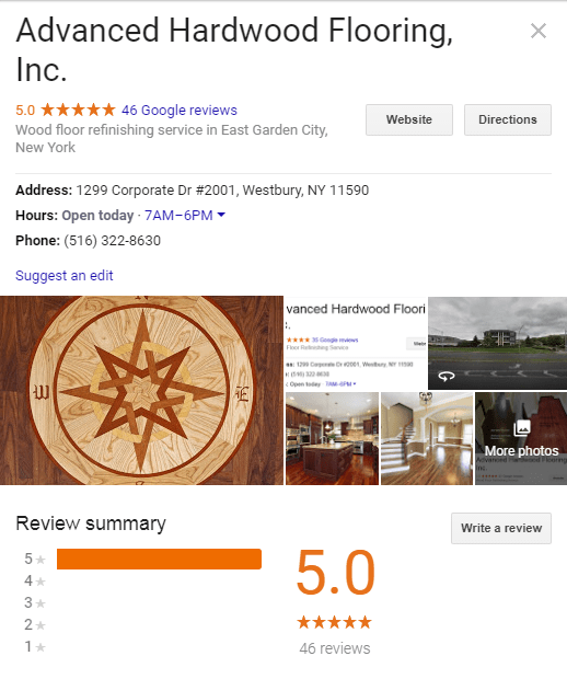 Hardwood-Floor-Long-Island-Google-reviews