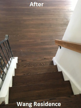 click on the link to get a free fast online estimate on what it would cost to refinish wood floors