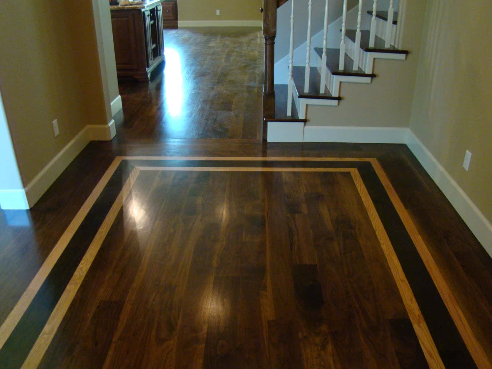Inlayed wood floors long island ny advanced hardwood for Floor to floor carpet